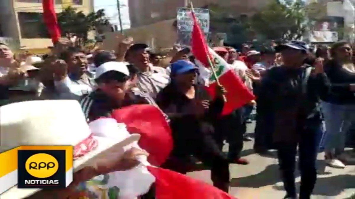 Manifestantes advierten protestas diarias en zonas aledañas al distrito de Tumán
