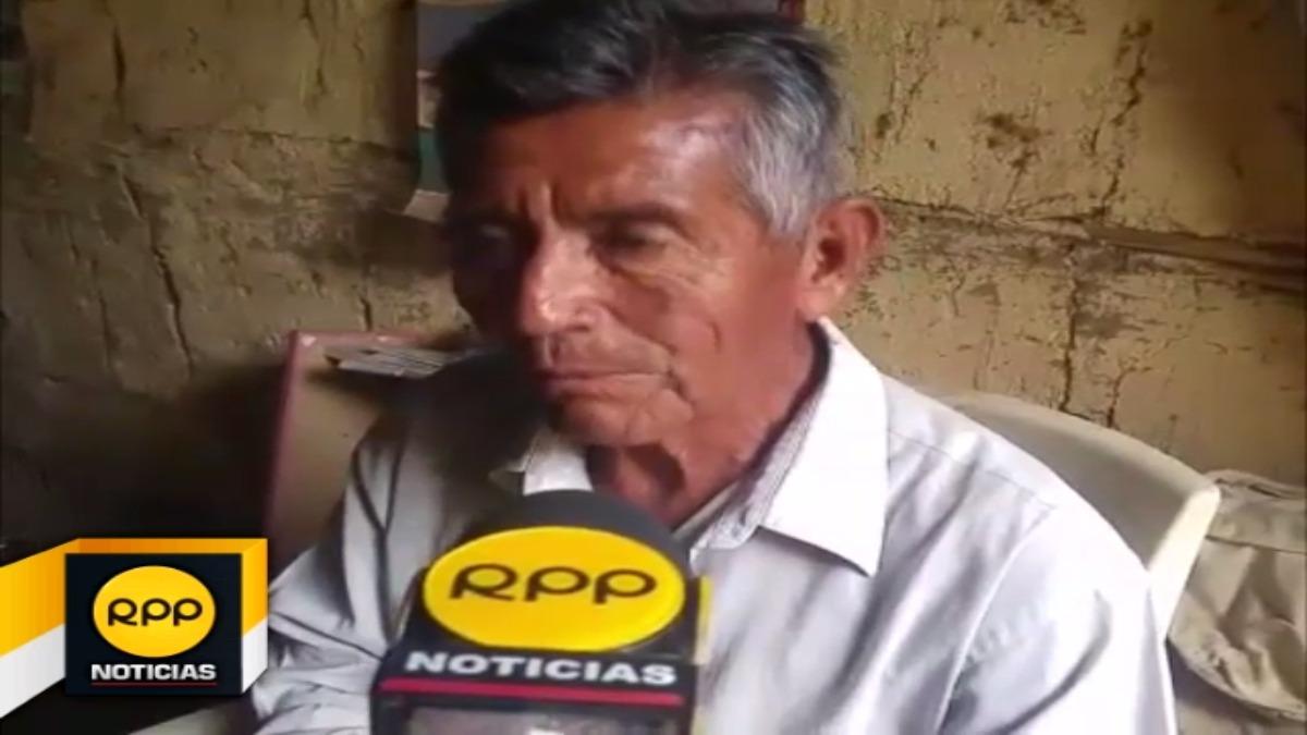 Fautisno Martínez Aquino de 73 años, de Pedregal Chico, tiene 9 hijos y 26 nietos.