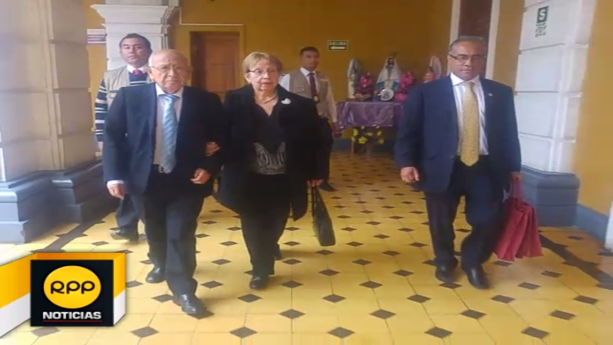 El presidente del Tribunal Constitucional, Manuel Miranda, visita Trujillo.
