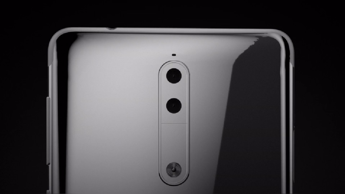 Teaser del Nokia 9 que demuestra su doble cámara.
