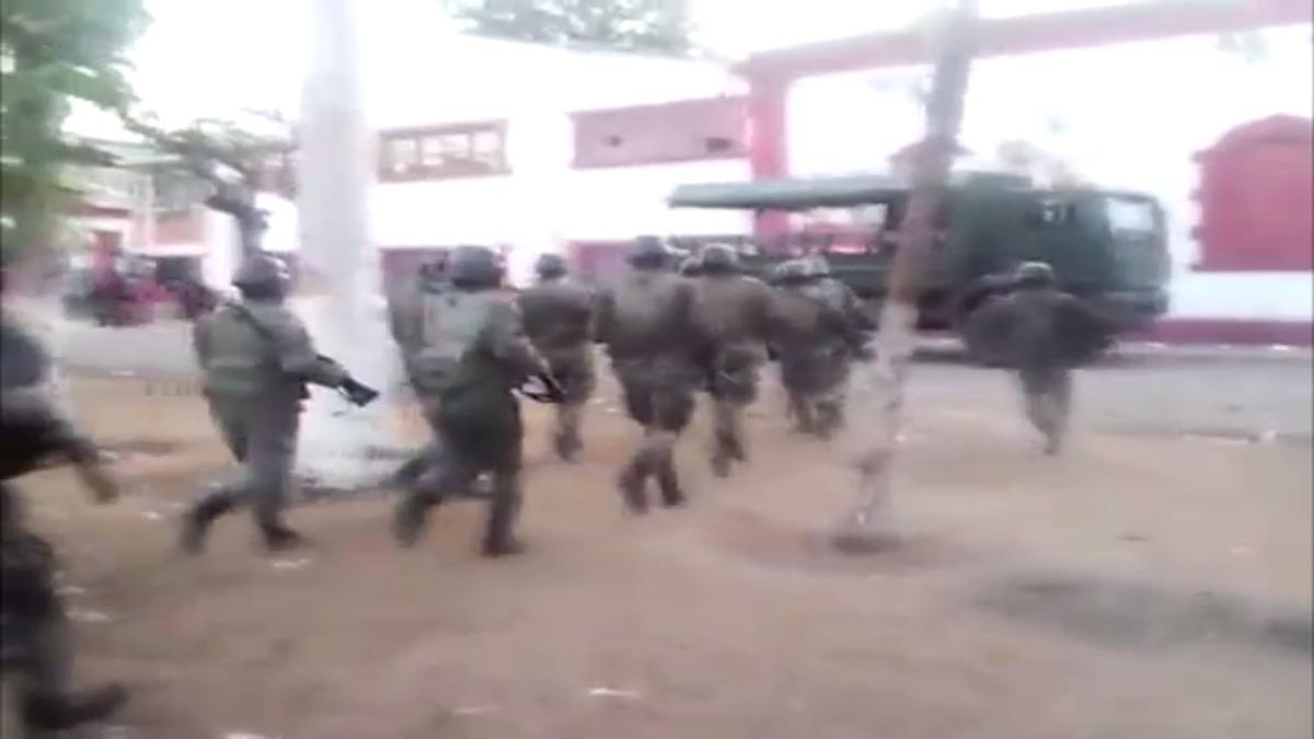 Policías en riesgo de contraer dengue en Tumán.