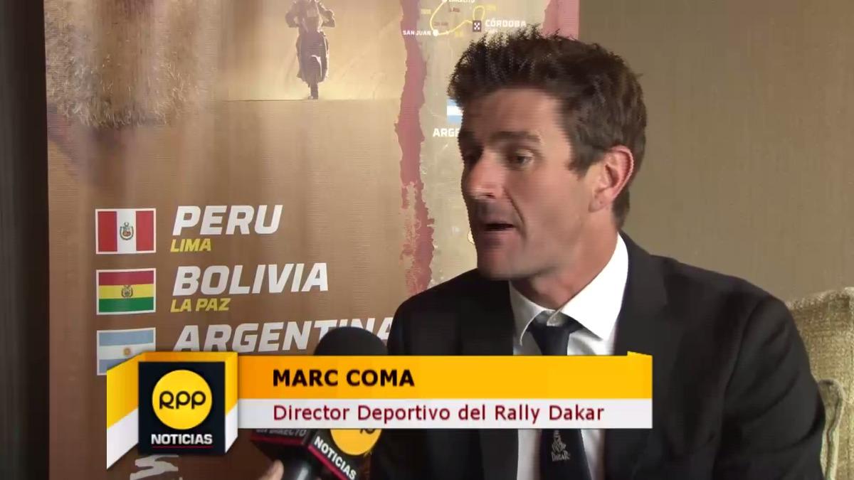 Marc Coma fue motociclista y 5 veces ganador del Rally Dakar en su categoría.