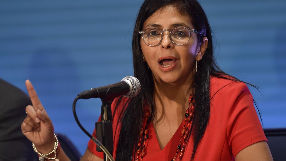La canciller venezolana Delcy Rordríguez defendió en la OEA la Constituyente convocada por Nicolás Maduro.