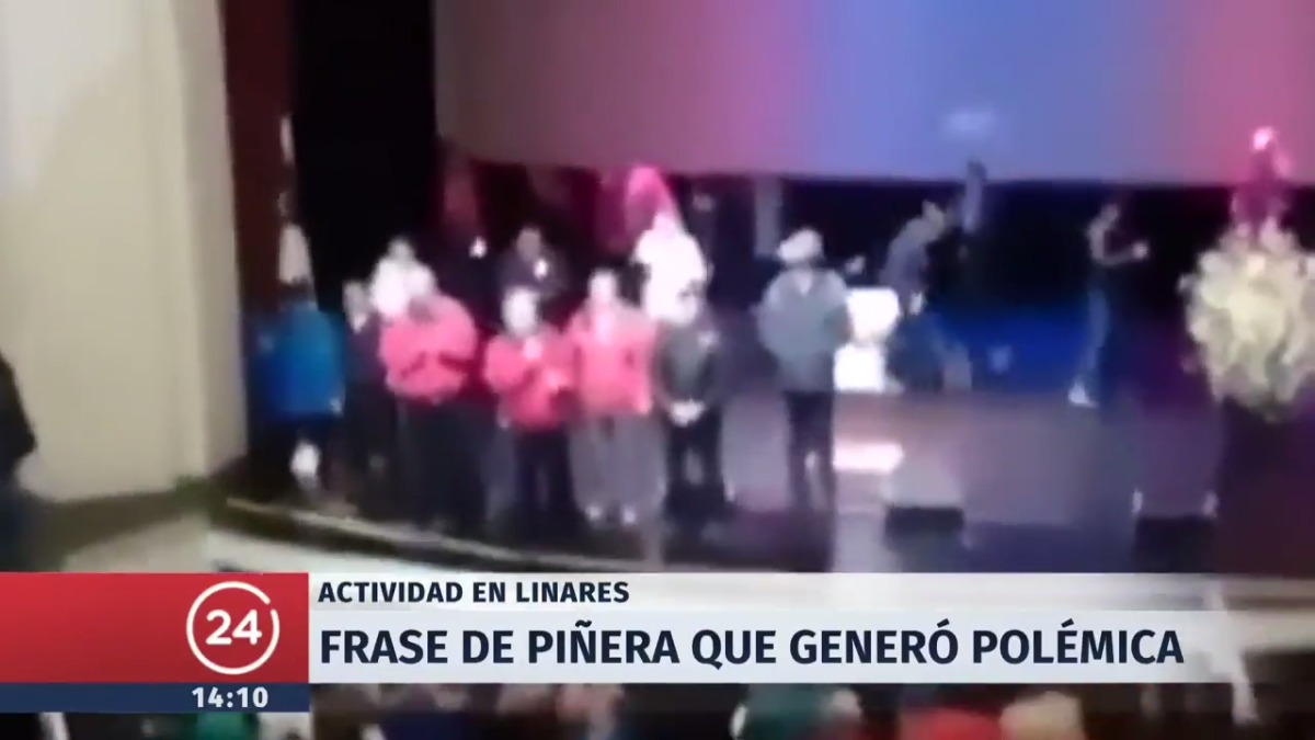 La desafortunada broma de Piñera que generó polémica en Chile.