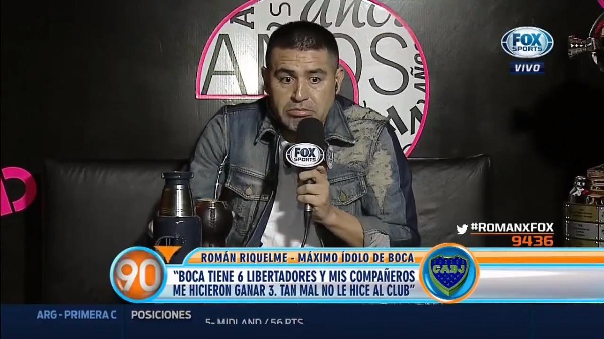 Juan Román Riquelme fue sincero y prefirió no responder a las declaraciones de Diego Maradona.
