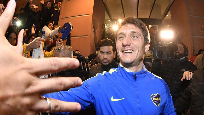 Guillermo Barros Schelotto ponderó el título del torneo argentino que logró su equipo, Boca Juniors, y sentenció: