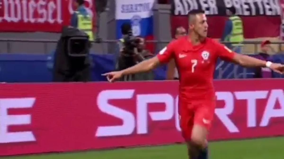Revive el gol con gran definición de Alexis Sánchez para la Selección de Chile.