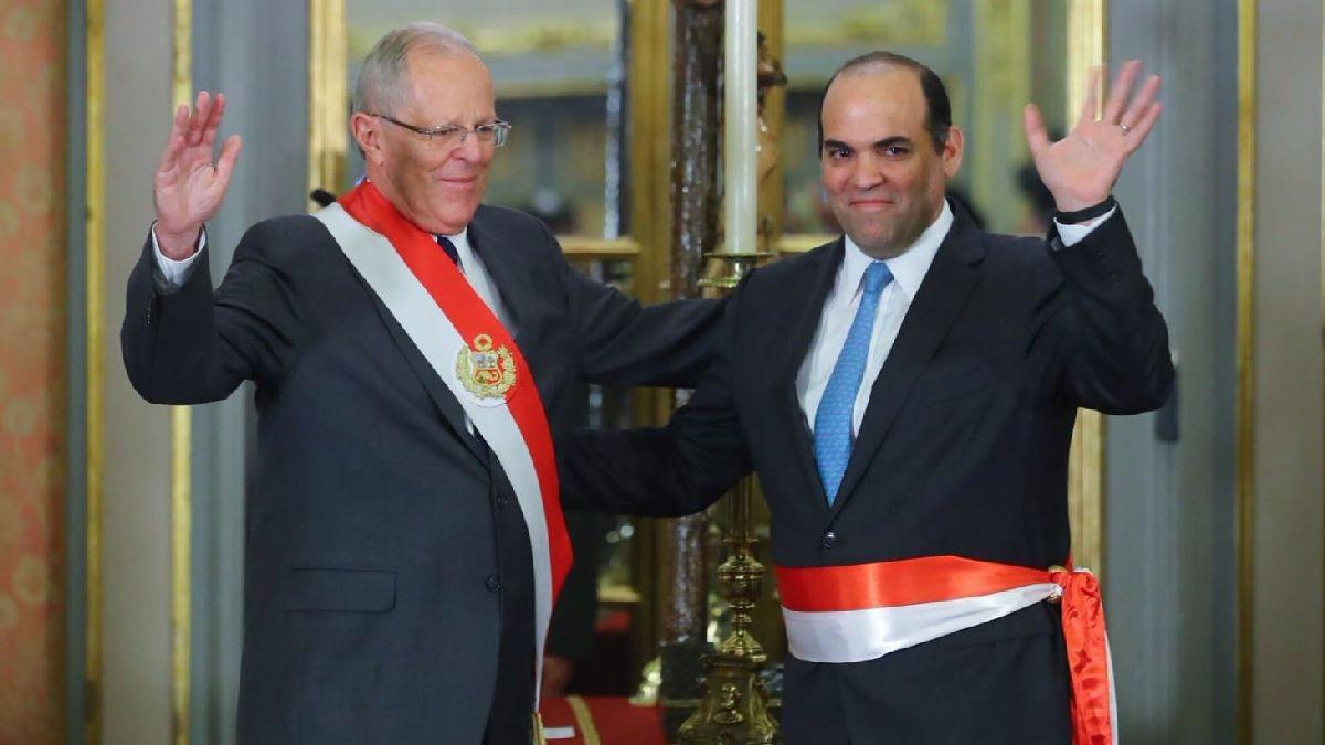 El primer ministro, Fernando Zavala, estará al frente de Economía hasta que se designe a un nuevo ministro.