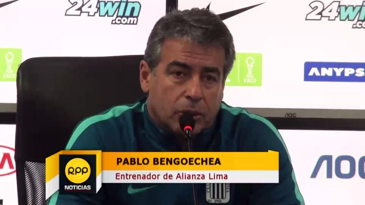 Pablo Bengoechea mantiene el invicto de local con Alianza Lima.