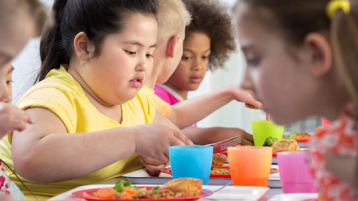 Se han elevado de forma preocupante los niveles de obesidad en menores de 5 años.