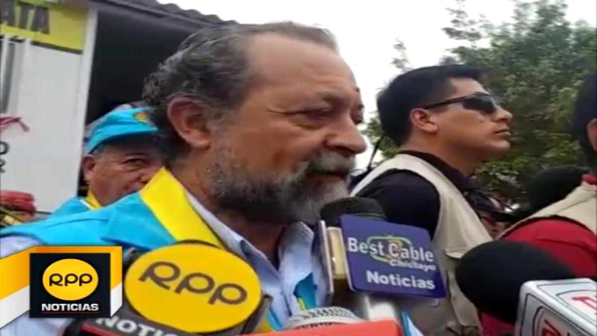 Ricardo Valdez pidió al Poder Judicial resolver caso Tumán.