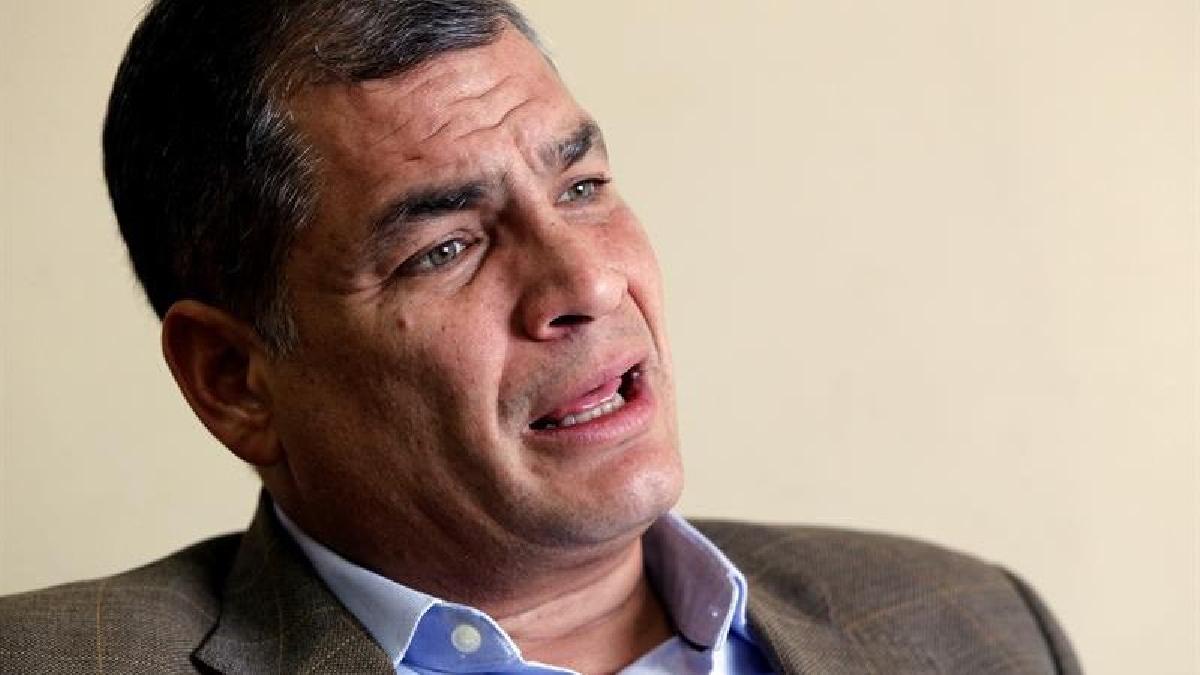 """Rafael Correa consideró que Donald Trump """"bate récord de estupideces""""."""