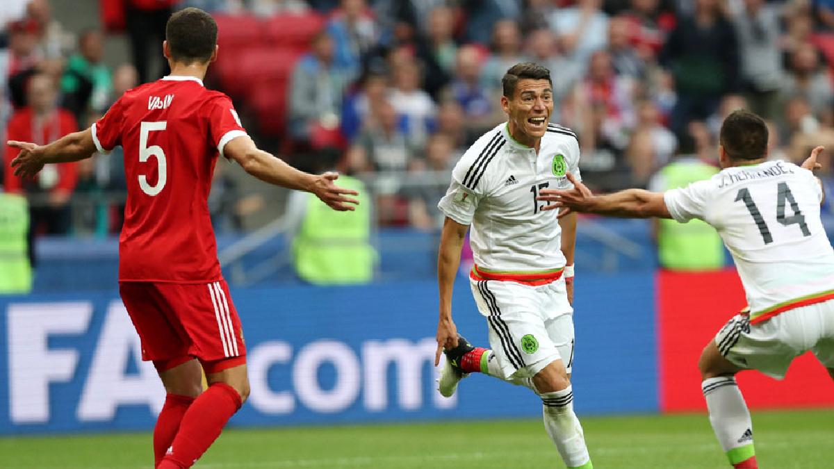Portugal y México, primeros semifinalistas de la Copa Confederaciones.