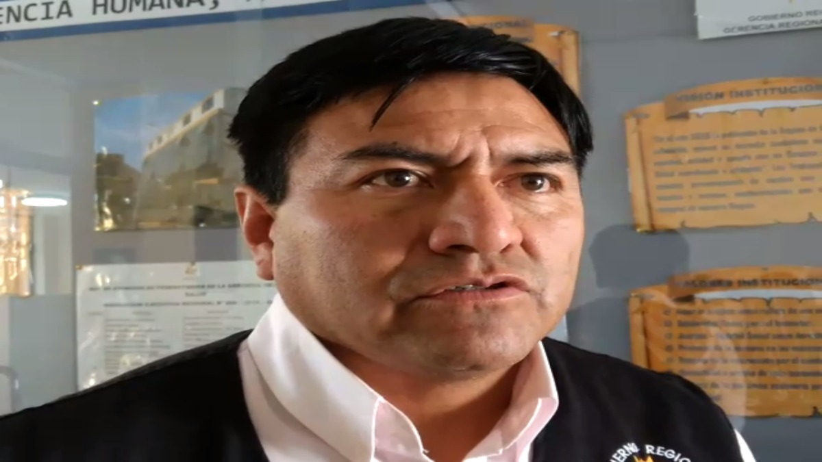 Carlos Gonzáles, responsable del área de Zoonosis de la Gerencia Regional de Salud.
