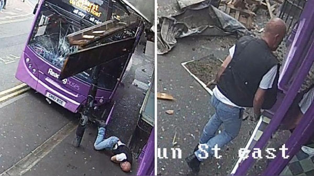 Sam Smith fue atropellado por un bus de Reading Bus.