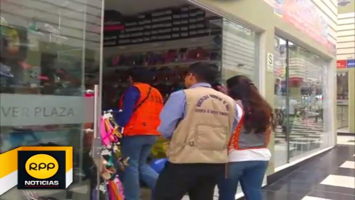 Operativos continuarán en otros locales comerciales de la ciudad de Piura.