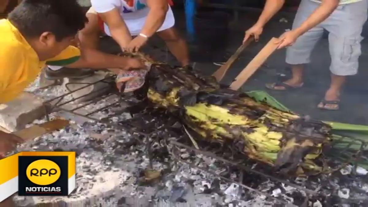 Con diversas actividades, los pescadores de Iquitos festejaron a su santo patrono.