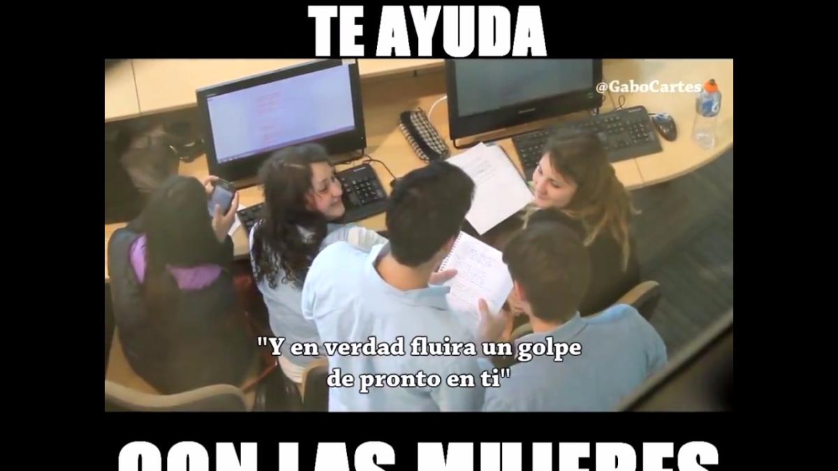 Este año un chileno dedicó la letra de 'Mi Corazón encantado' a una joven.