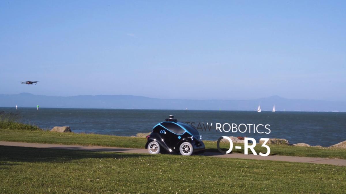 Es posible que para finales de este año el robot O-R3 y un dron patrullen las calles de Dubai.