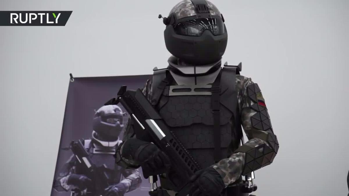 Así vestirán los soldados rusos del futuro.