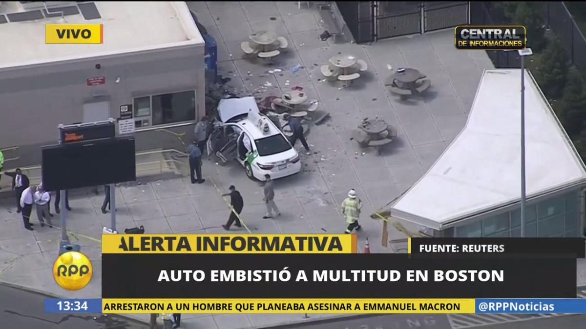 Así informó RPP TV del incidente.