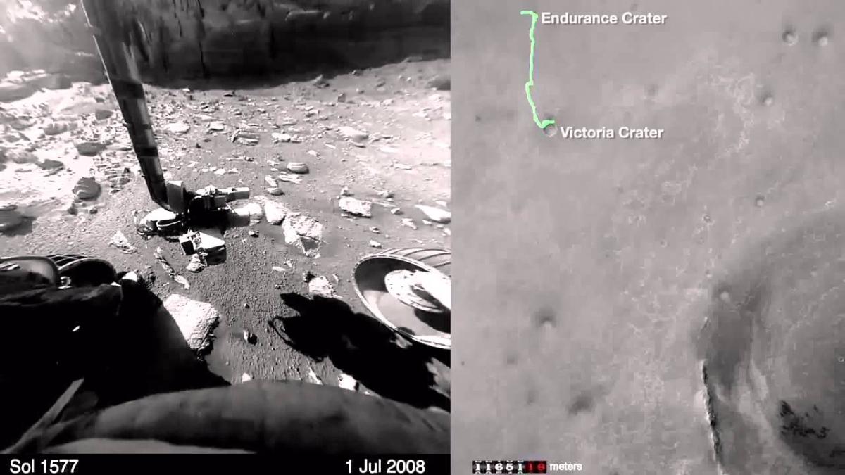 Así se escucha Marte
