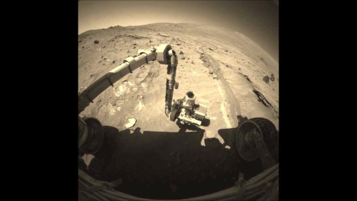 Así pasa su día el Spirit en tierras marcianas.