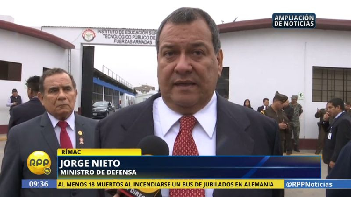 Jorge Nieto aseguró que los deudos de los soldados muertos en Marbella ya han recibido las compensaciones del caso.