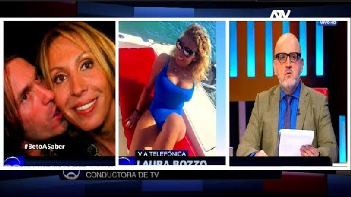 El final de al relación fue confirmado por Laura Bozzo en una entrevista con Beto Ortiz.