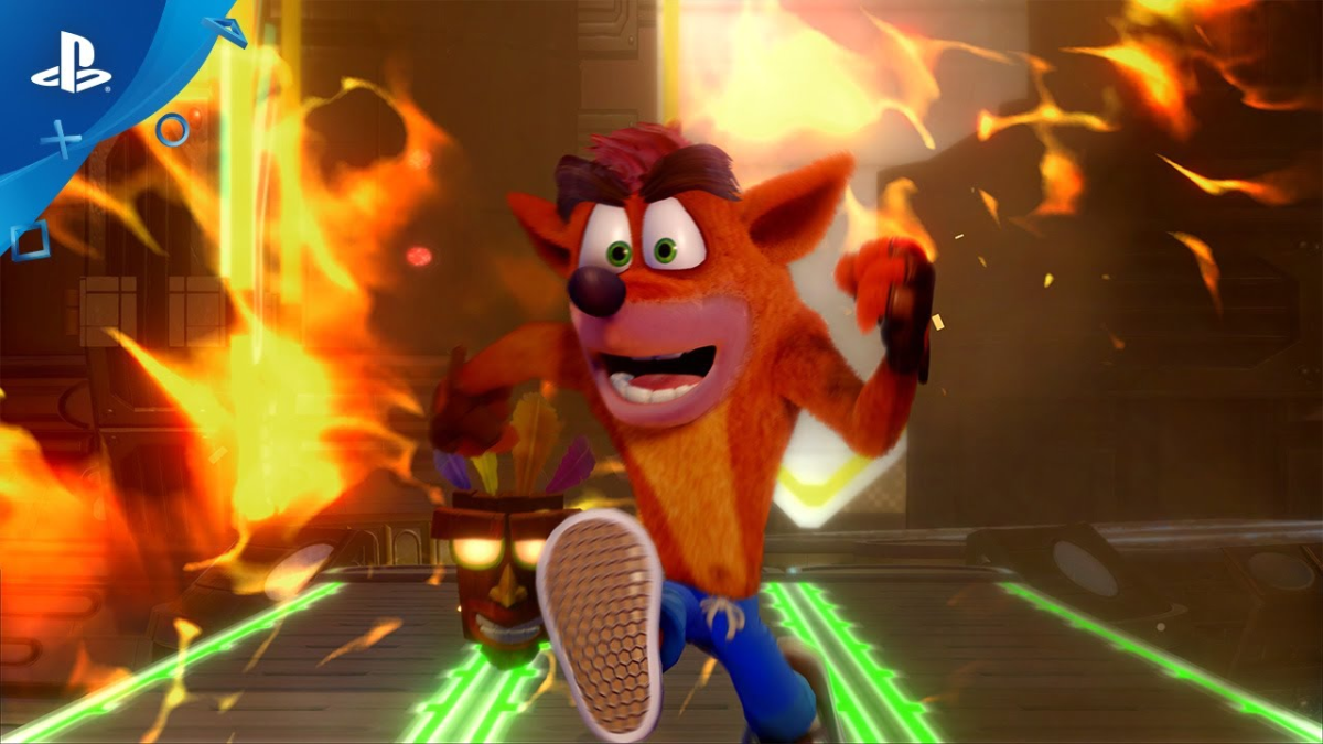 Este el es tráiler de lanzamiento de Crash Bandicoot N. Sane Trilogy.