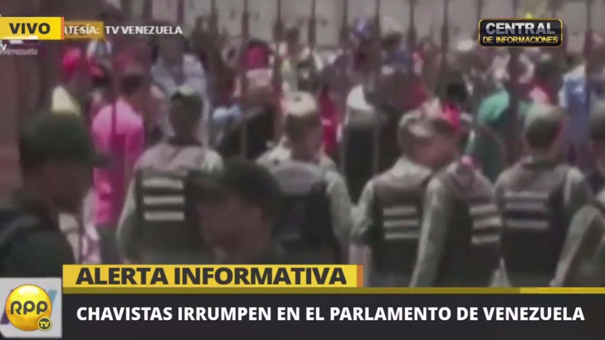 El Parlamento es de mayoría opositora al Gobierno de Nicolás Maduro.