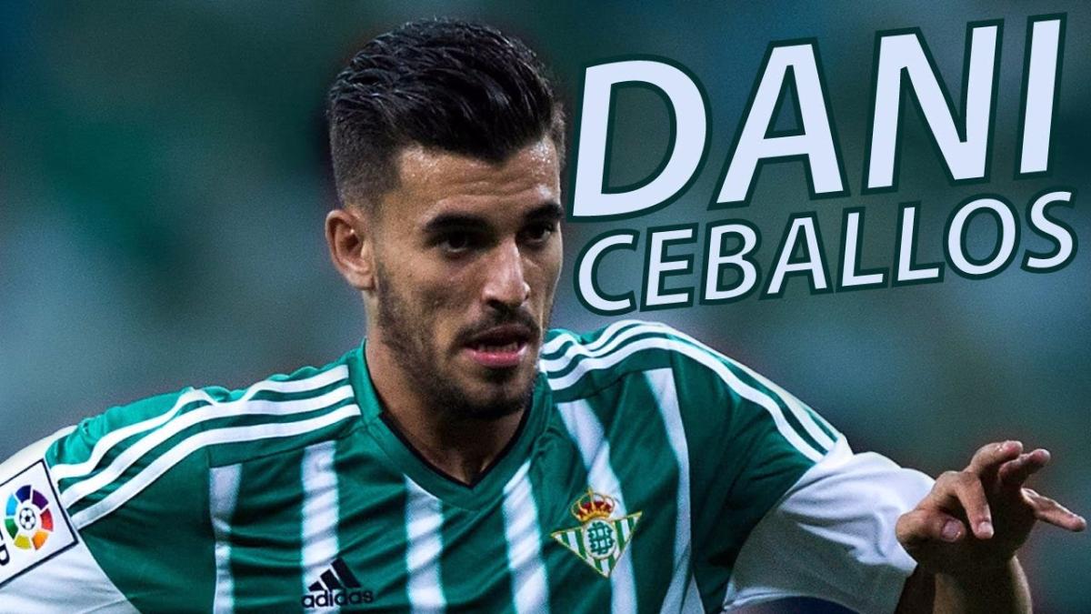 Dani Ceballos se inició en el fútbol jugando en las divisiones menores del Sevilla.