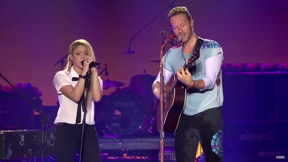 Shakira & Chris Martin - Me Enamoré (Live at Global Citizen Festival Hamburg)