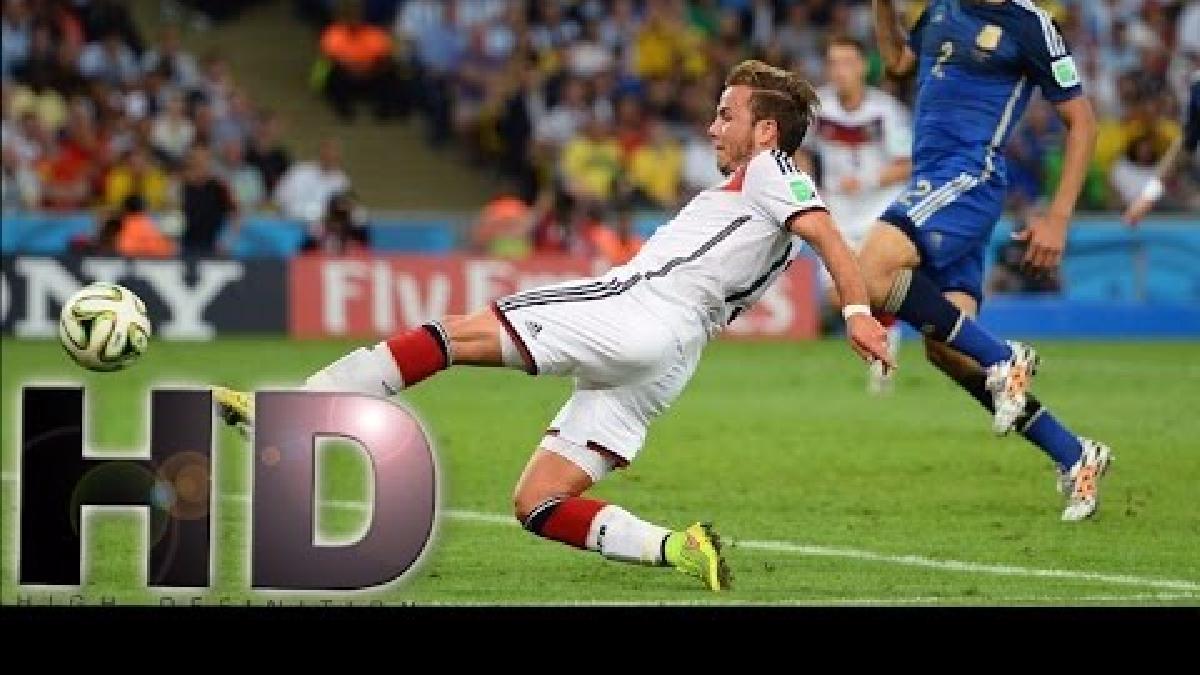 Al minuto 113, Mario Götze sacó un disparo impecable que firmó el 1-0 para Alemania ante Argentina en la final del Mundial.