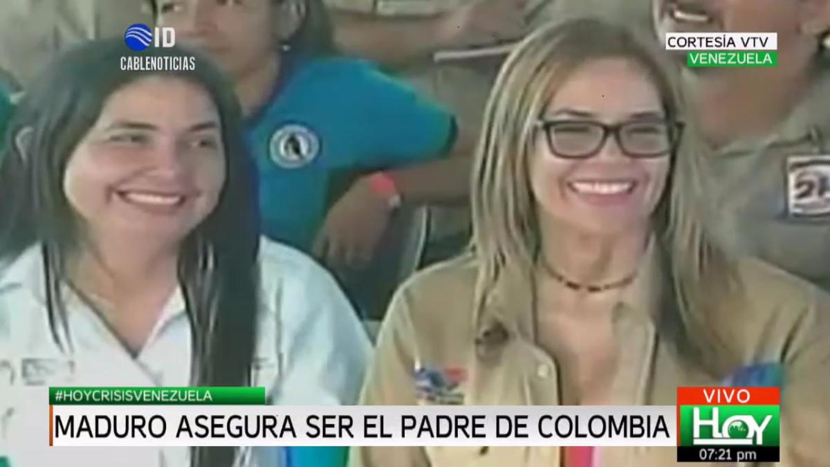 El público estalló en risa luego de la declaración de Nicolás Maduro.