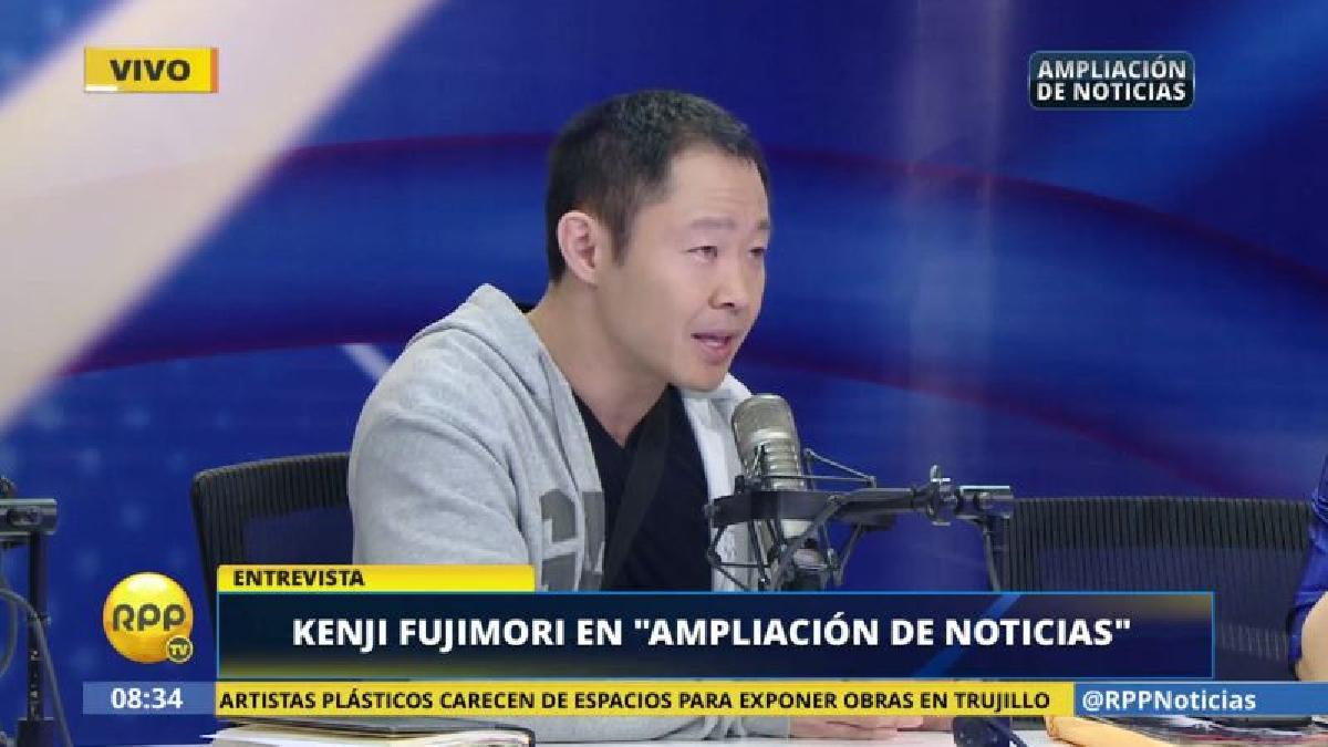 Kenji Fujimori dijo que está enfocado en su labor legislativa, pero más adelante no descarta una postulación a la Presidencia.