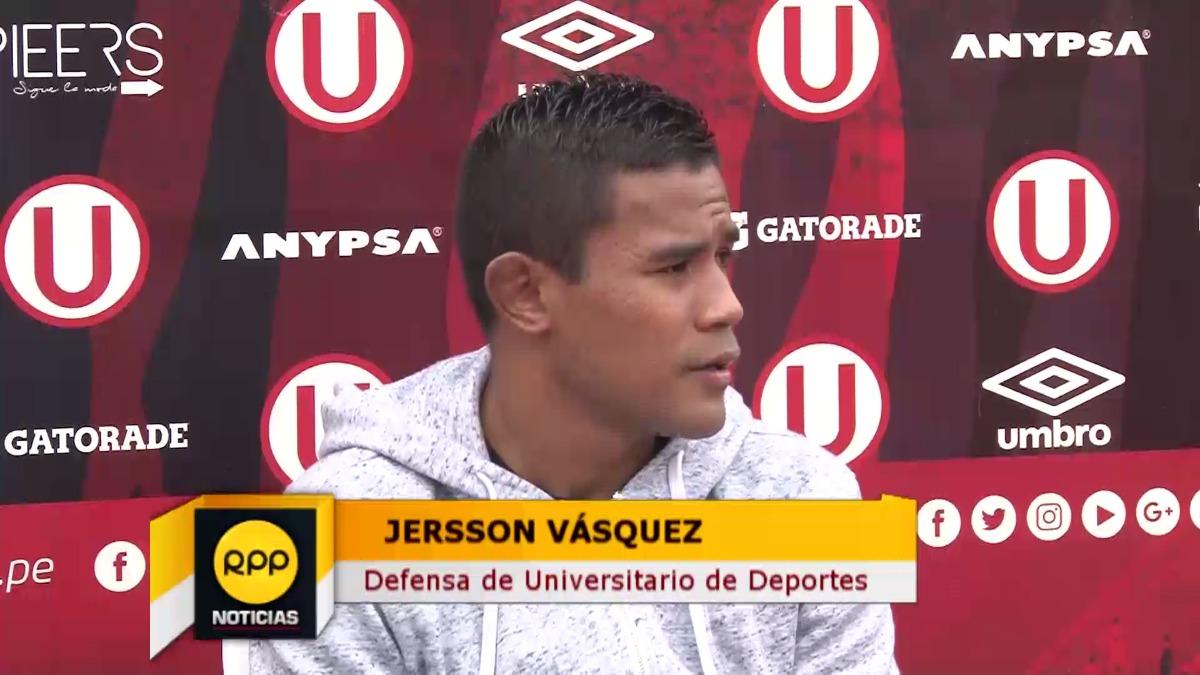 Jersson Vásquez ha marcado 3 goles con Universitario en lo que va de la temporada.