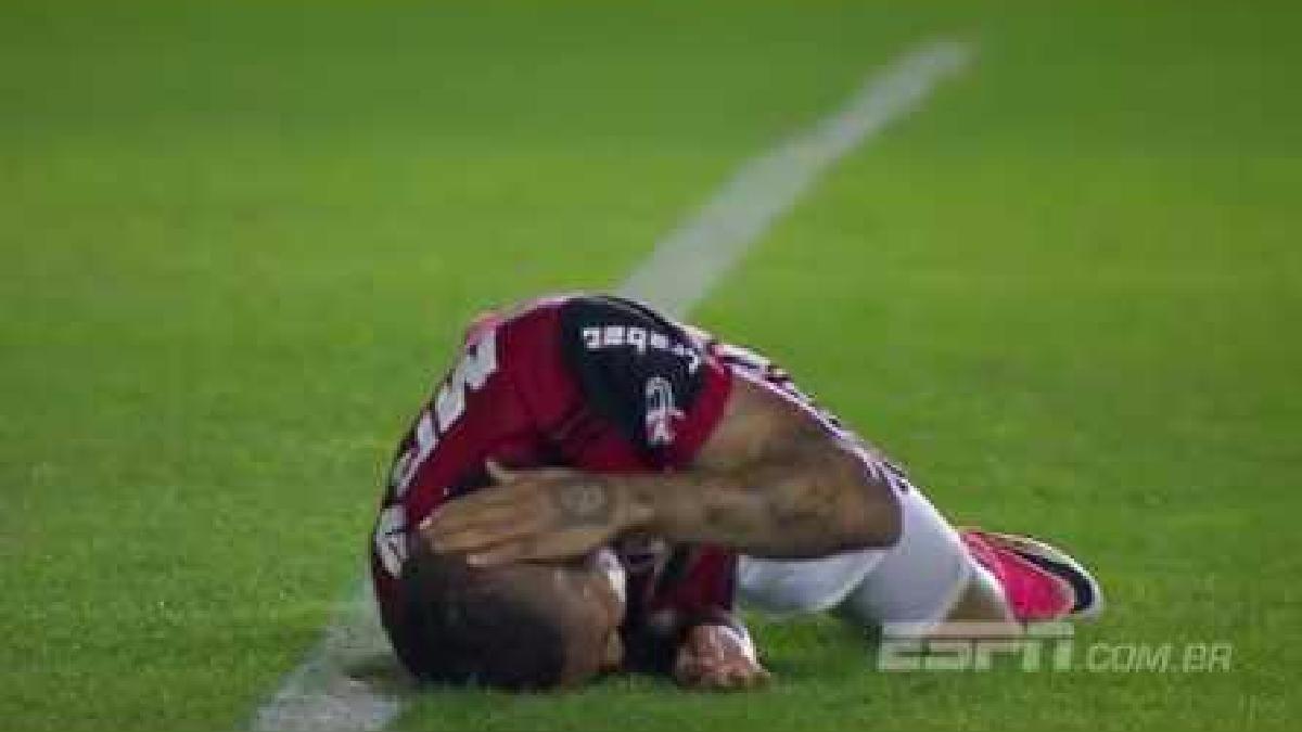 Así fue la jugada que sacó del partido a Paolo Guerrero ante Vasco da Gama.