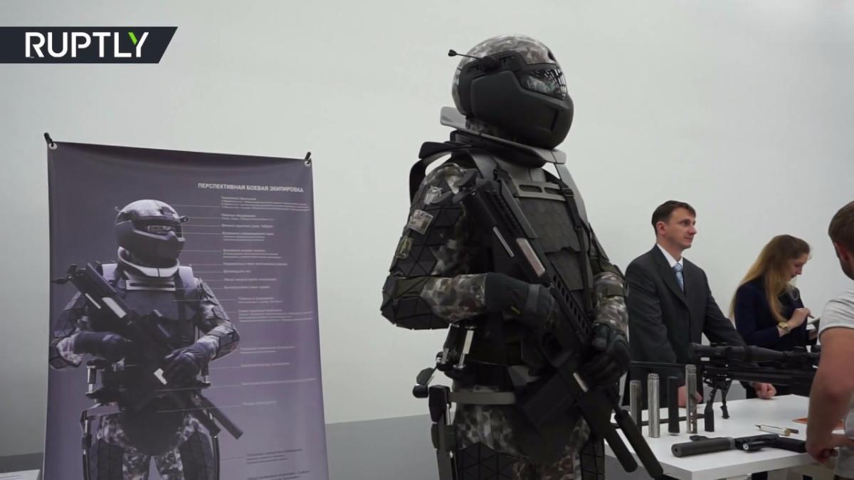 Mira el prototipo de armadura que podría usar el Ejército de Rusia.