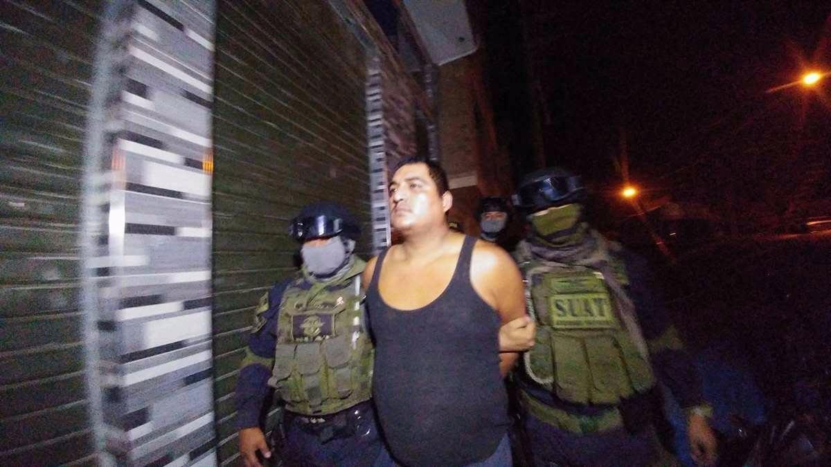 Entre los detenidos también está Julio Salgado, alias