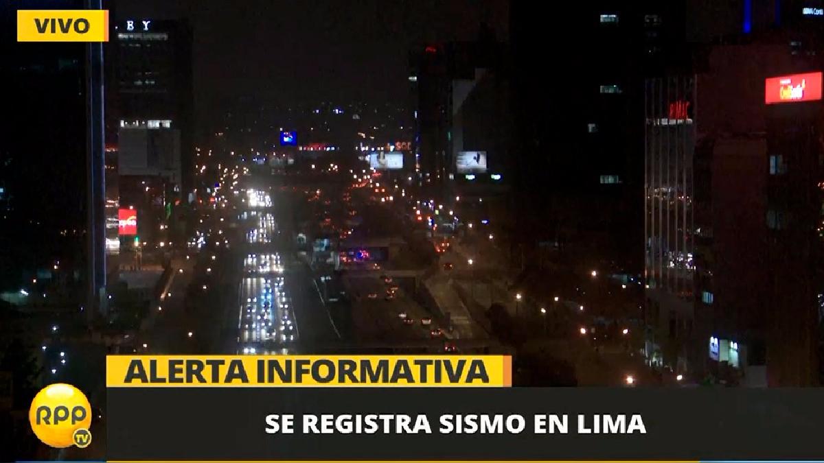 El sismo tuvo su epicentro en Ancón.