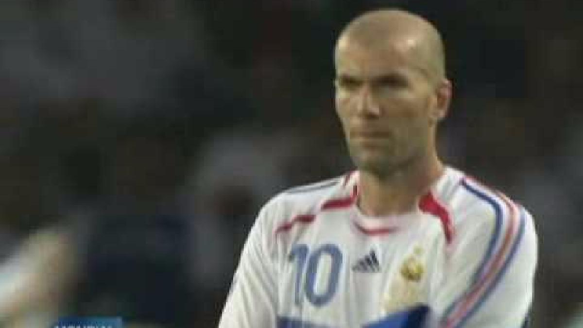 Revive el cabezazo de Zinedine Zidane a Marco Materazzi al minuto 110.