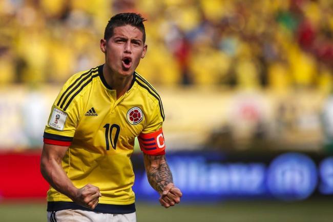 James Rodríguez debutó en 2011 con la selección mayor de Colombia.