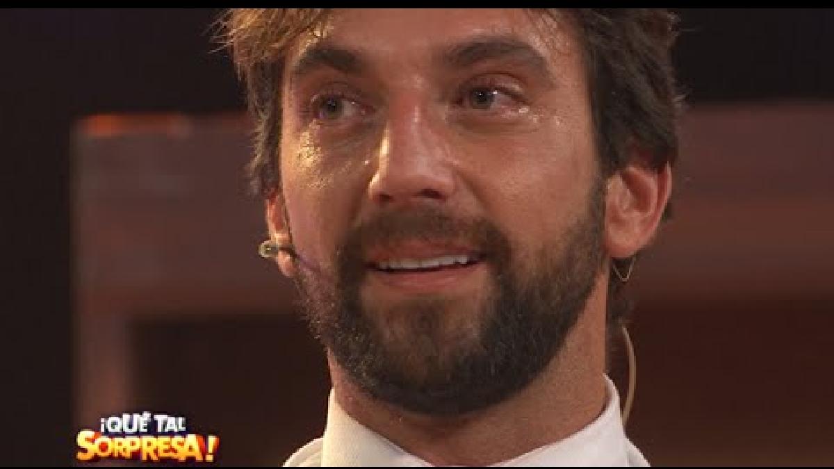 ¡Qué tal Sorpresa!: Antonio Pavón lloró al recibir esta sorpresa