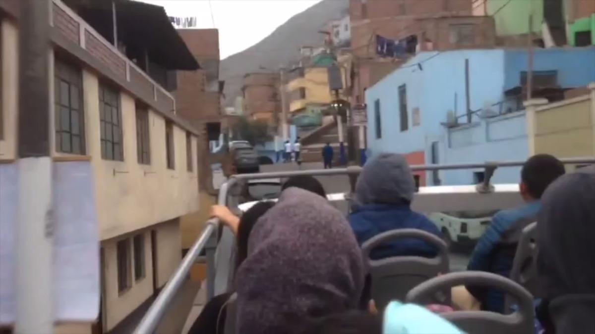 Este es el camino que recorrían estos buses.
