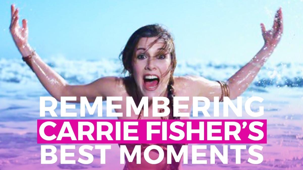 Los mejores momentos de Carrie Fisher en el cine.