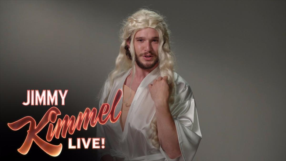 El vídeo que salió en el Show de Jimmy Kimmel