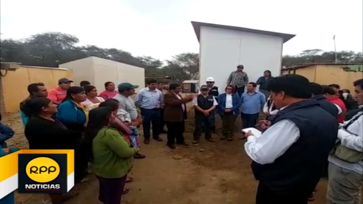 El ministro estuvo acompañado del congresista por Lambayeque, Clemente Flores Vílchez.