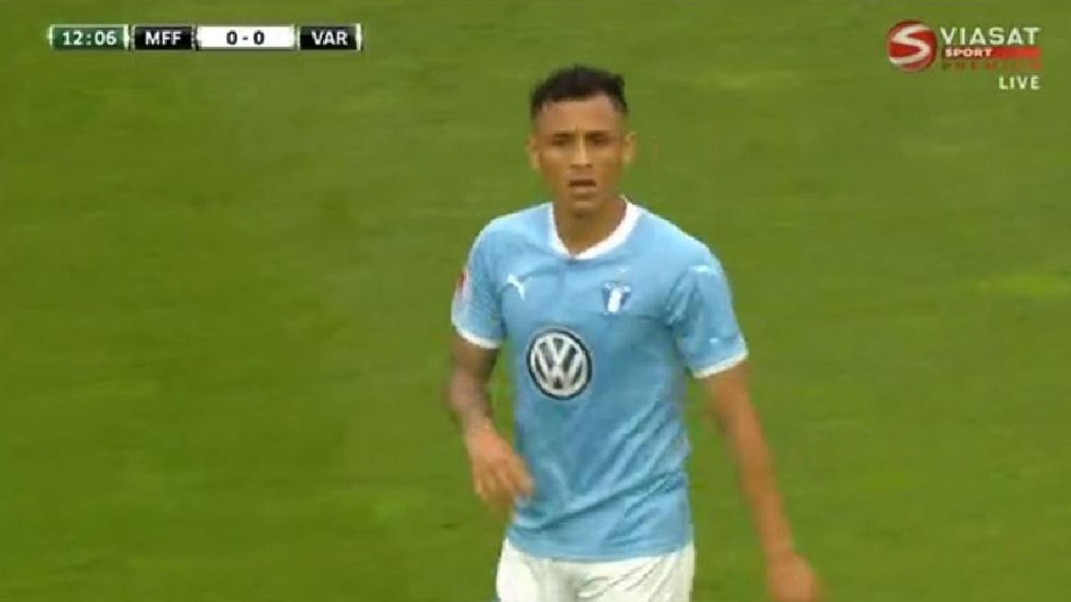 El Malmo de Yoshimar Yotún empató 1-1 ante el FK Vardar.