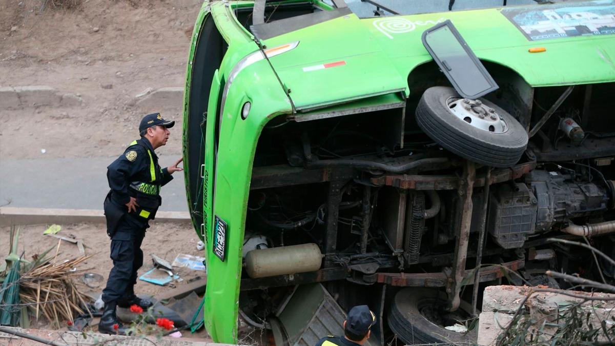 Especialistas explicaron cómo funcionó o debió funcionar el SOAT del bus accidentado en el Rímac.